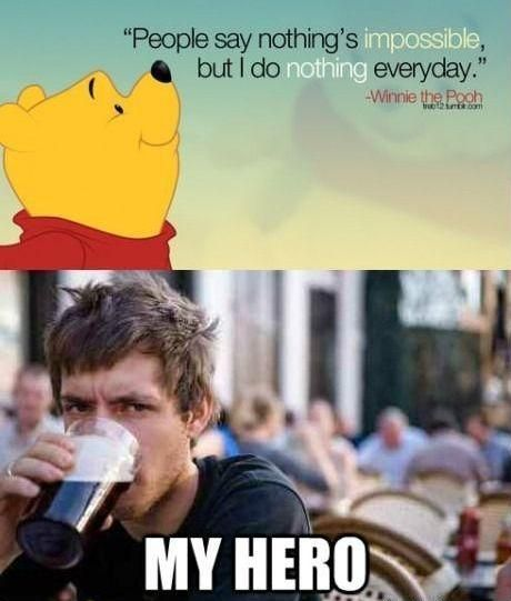 Winnie the Pooh knows what's up - Imgur