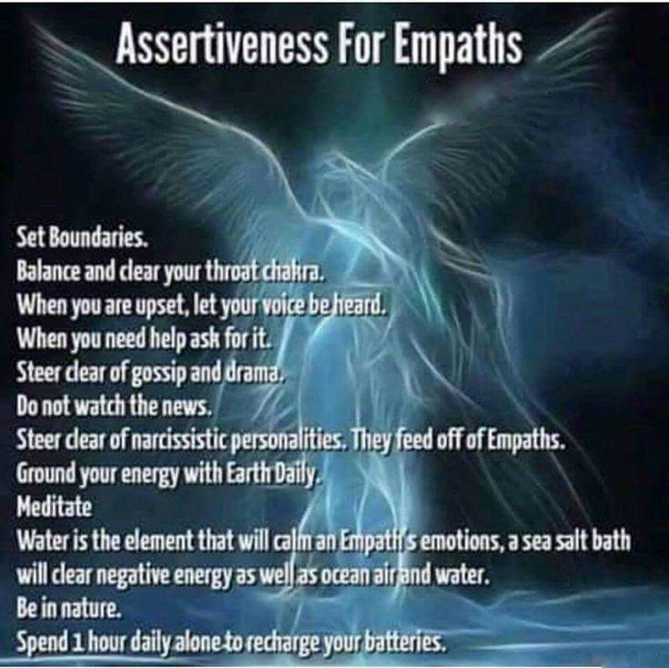 Empaths & Highly Sensitive People (HSP) •~• assertiveness