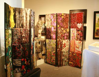 Mary Hammond's lovely scarves!