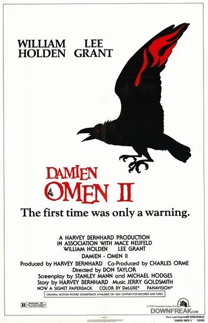 Damien: Omen II (1978) | Directed by: Don Taylor | Starring: William Holden, Lee Grant. 3/01/03