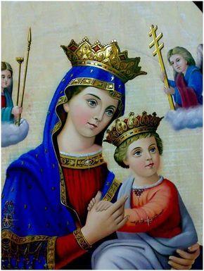 Virgen del Perpetuo Socorro oración para pedir por una necesidad