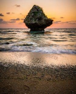 """Hidden Beach"" (on Yonashiro Miyagi-jima Island)"