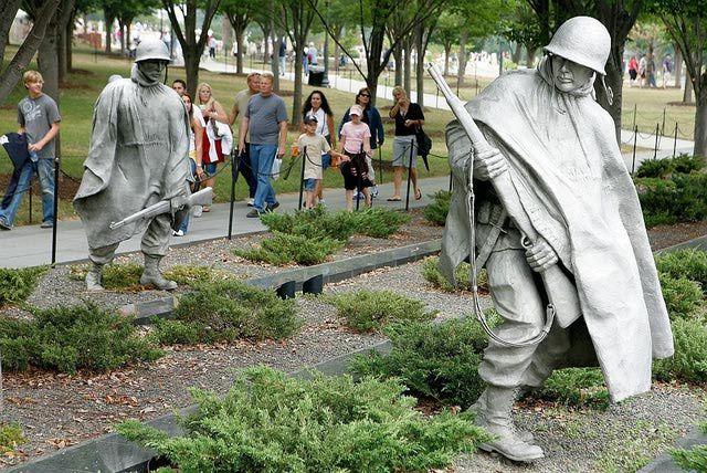 See Photos of the Korean War Memorial: Korean War Veterans Memorial Up Close