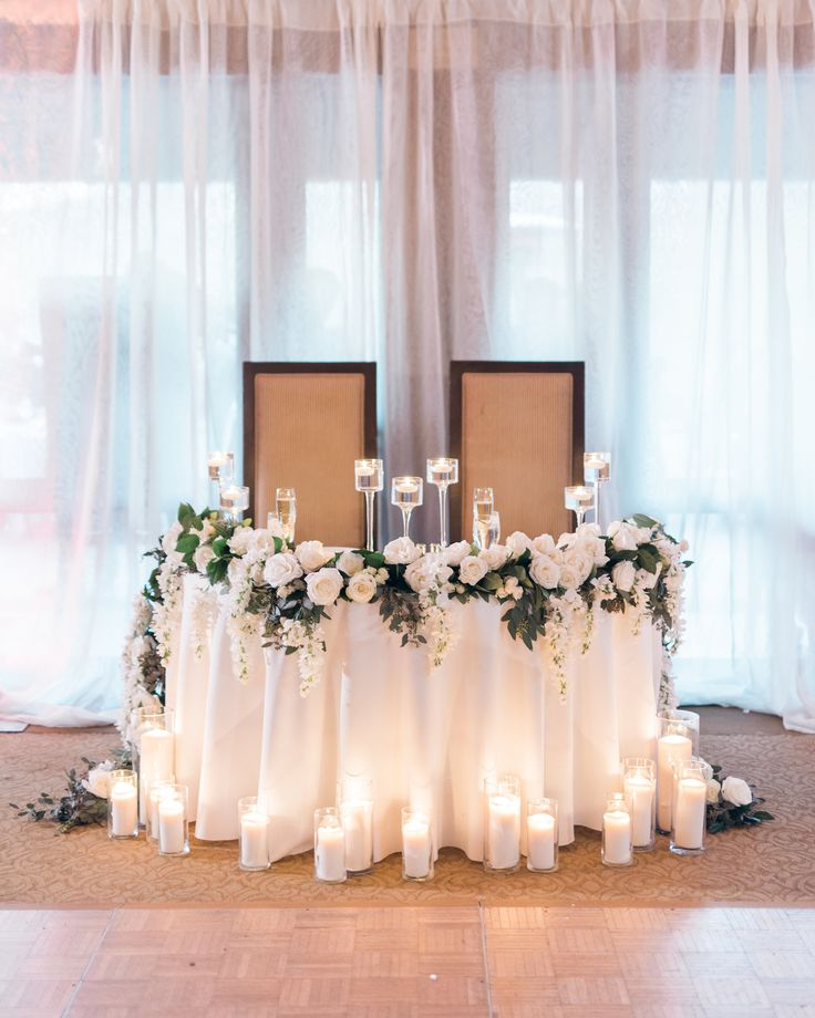 42 Best Head Table Images On Pinterest
