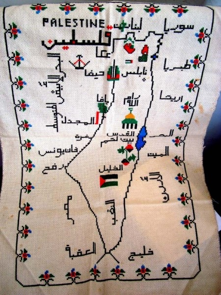 Nice needlework. Every tourist spot needs a souvenir teatowel, right?
