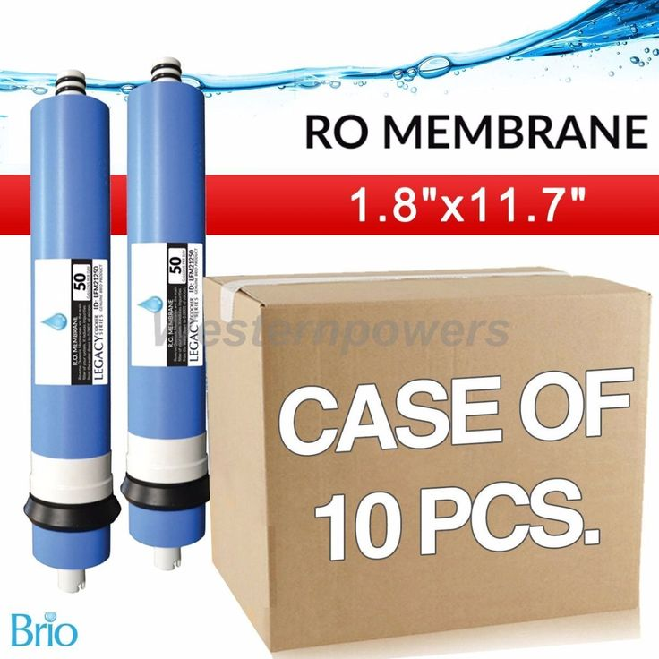 "10X Wholesale Biro 50 Gpd 2"" X 12"" Ro Membrane Filter Nsf Approved"