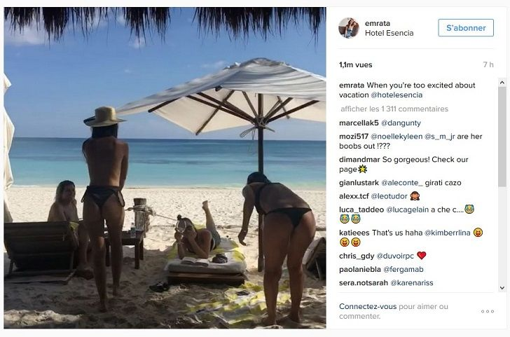 VIDEO Emily Ratajkowski danse seins nus devant ses copines