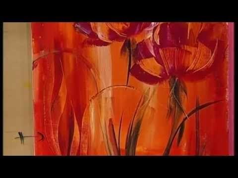 ▶ MONITOR   Gabriela Mensaque pintando con Acrílicos Profesionales Lautrec   Manos a la Obra - YouTube