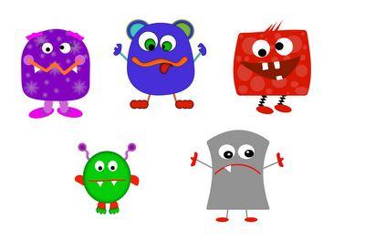 Monster Clipart For Teachers
