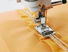 yo elijo coser: Videotutorial: los prensatelas para añadir hilos o cordones decorativos