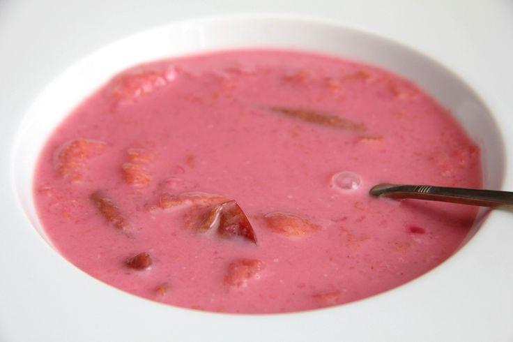 Fahéjas szilvaleves recept