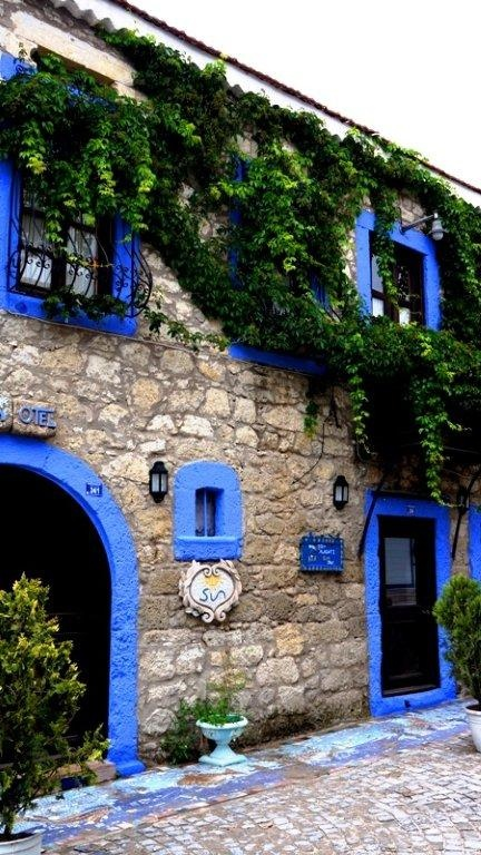 Alacati / Turkey  An old stone house converted to a hotel