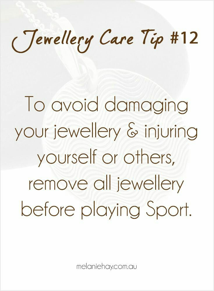 12 best Jewelry Care Tips images on Pinterest
