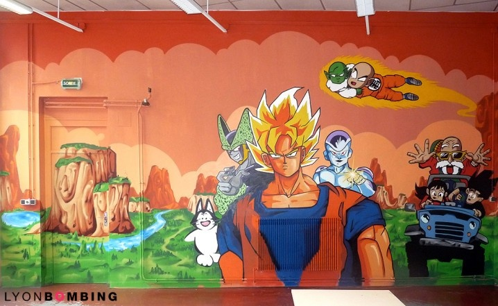 Top 25 ideas about dbz bedroom for the boys on pinterest for Dragon ball z bedroom