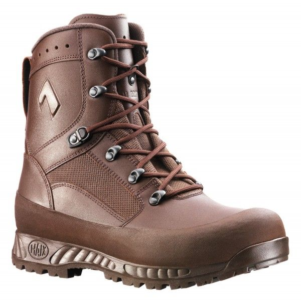Haix Combat High Liability Boot GTX Brown -  This is the new British Army Boot with its Gore-tex lining its arguably one of the best issued boots the British Army has ever had.