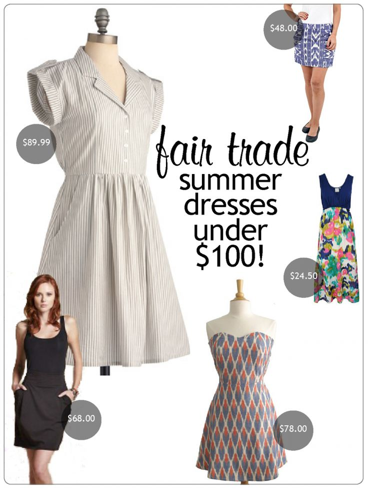 Fabulously Fair Trade for Summer