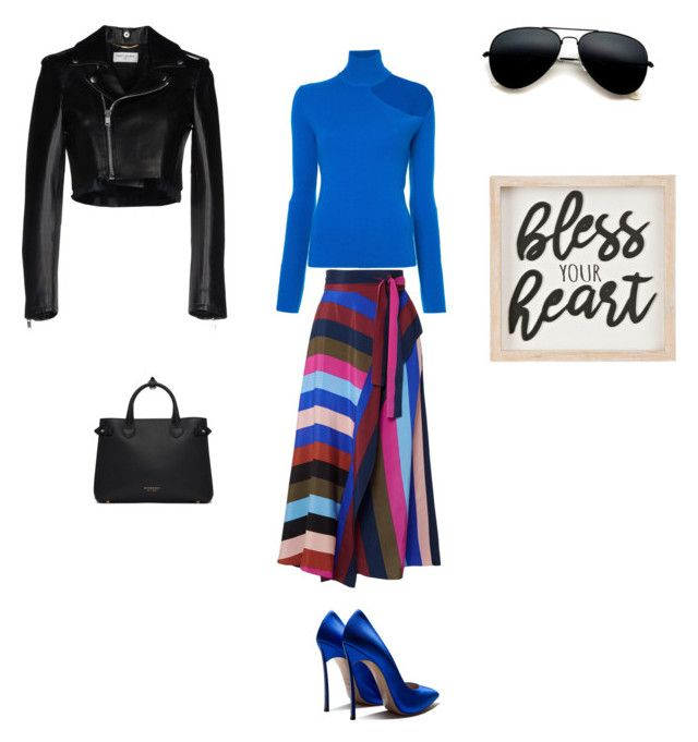 """Bless"" by francystyling78 on Polyvore featuring moda, Diane Von Furstenberg, Dion Lee, Yves Saint Laurent e Burberry"