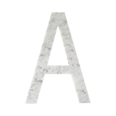 marble letters & numbers