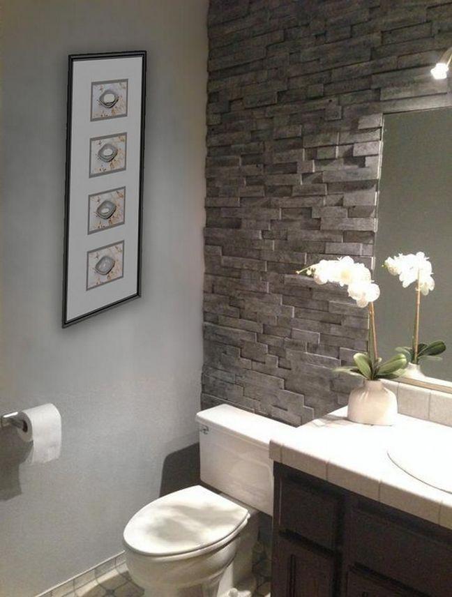 40 The End Of Brick Wall Bathroom Bathroom Makeover Bathrooms