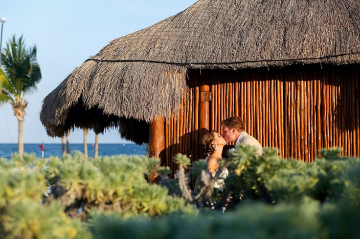 Beautiful Beachside Wedding at Excellence Playa Mujeres - My Hotel Wedding (This One Photography)