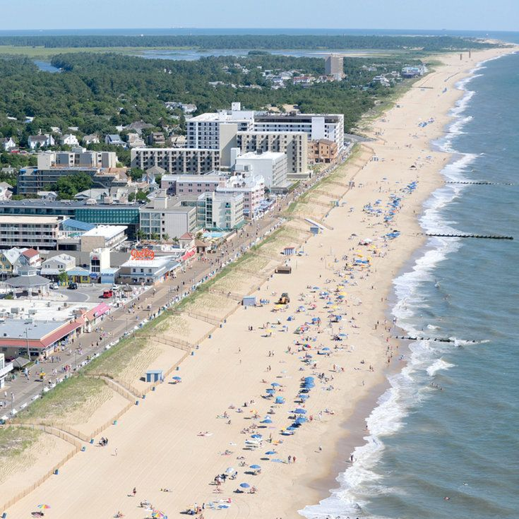 2. Rehoboth Beach, Delaware - 2016 America's Happiest Seaside Towns - Coastal Living