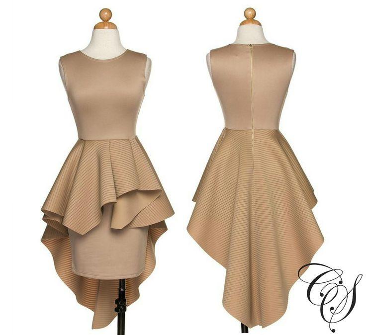 Quinn Extreme Peplum Dress, Dresses - Designs By Cece Symoné