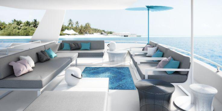 yacht, maledives #gandiablasco