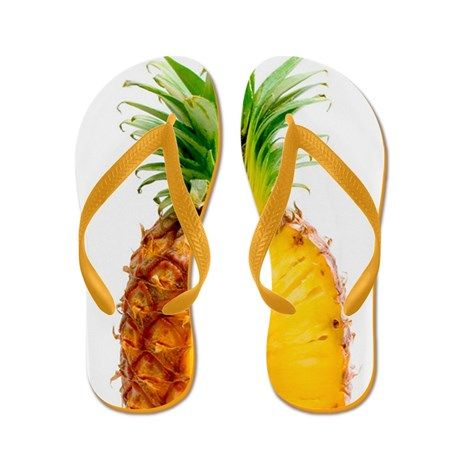 Where can I buy these?? Pineapple Flip Flops | Cafe Press