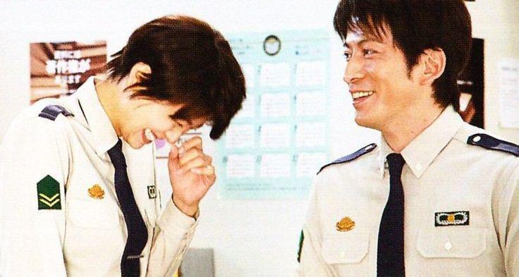 Junichi Okada & Nana Eikura 岡田 准一 & 榮倉奈々 #V6 JunichiOkada #図書館戦争