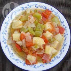 Photo recette : Bobbia salade italienne végétarienne chaude