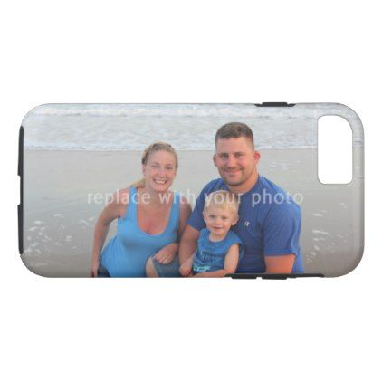 Your family photo phone case use any picture iPhone 8/7 case - kids kid child gift idea diy personalize design