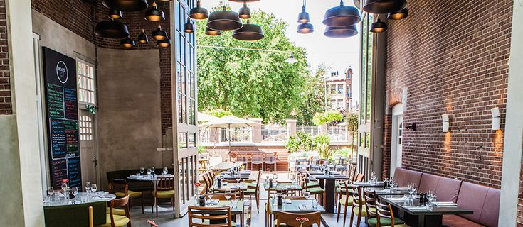 Restaurant Remise 47 - interior | architecture | totaal concepten | interieur | tuinplan - Marco van Veldhuizen