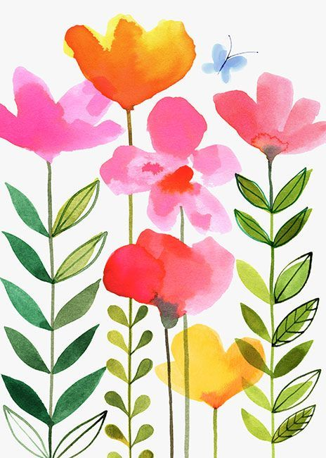 Margaret Berg Art: Spring Pinks