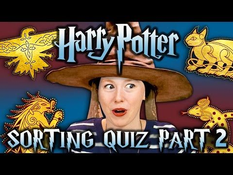 HARRY POTTER SORTING QUIZ PART 2 - ILVERMORNY HOUSES (React Special)