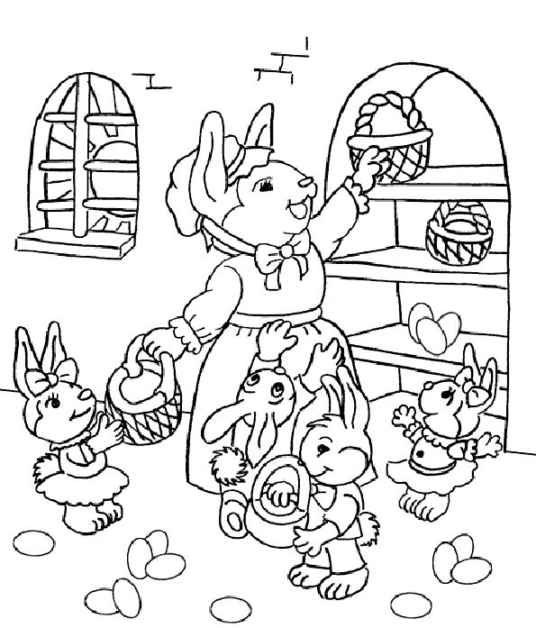 111 best !Easter/spring coloring images on Pinterest | Coloring ...
