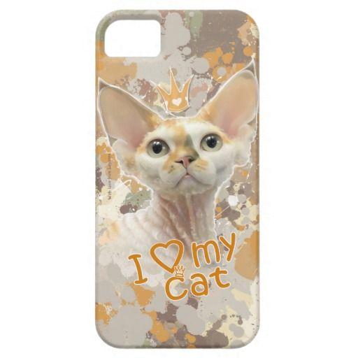 Чехол на телефон с рисунком. I love my cat. I love my cat, my princess, my Devon Rex! Футболки, майки и другая яркая одежда, обувь, аксессуары с авторским портретом кошки породы Девон Рекс. Вы можете купить одежду с этим рисунком, Такие вещи носить приятно, они обязательно поднимут настроение вам и окружающим. или с другими дизайнерскими принтами, а так же заказать портрет (нарисовать ) своего питомца. Для связи layanna@layanna.ru