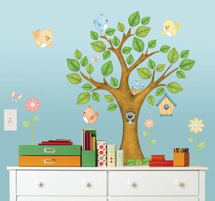 17 meilleures id es propos de stickers muraux d 39 arbre sur pinterest image d 39 arbre paroi d - Stickers muraux personnalise ...