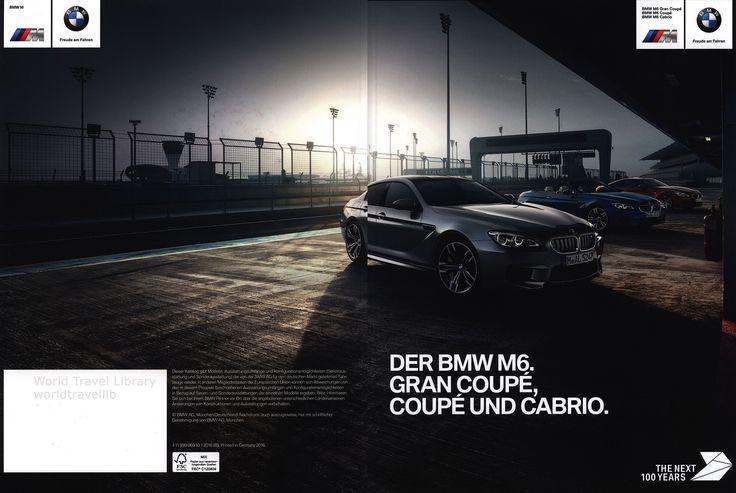 https://flic.kr/p/T6KcSh | BMW M6. Gran Coupé, Coupé und Cabrio. 2016_1