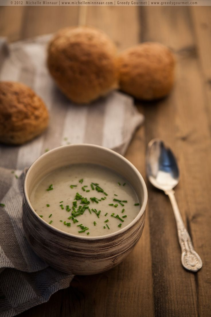 Artichoke Soup - Sweet and nutty, a perfect soup for winter. {recipe}