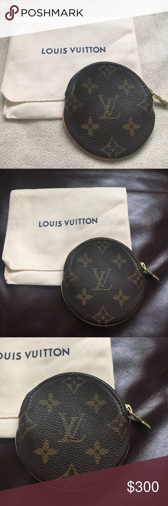 Authentic Louis Vuitton Coin purse 100% authentic LV coin purse purchased from Saks. Never used & in great condition. Comes with dust bag as pictured Louis Vuitton Bags Wallets