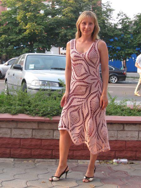 Платье(крючок)-ну очень красиво!!!!... Комментарии : LiveInternet - Российский Сервис Онлайн-Дневников
