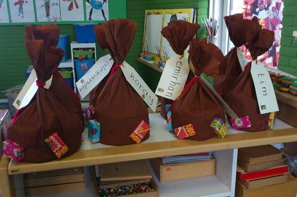 Verjaardagskroon: Cadeau-zak als cadeau of muts!