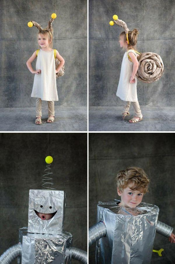 Halloween Kostüme selber machen - coole Kinder Verkleidungen basteln