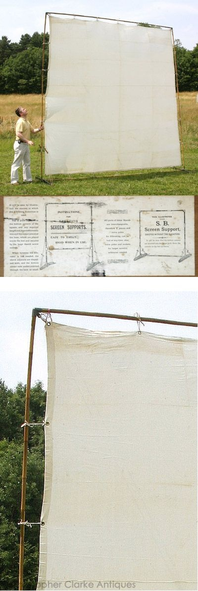 Antique brass canvas bamboo screen privacy at the koa for Canvas privacy screen outdoor
