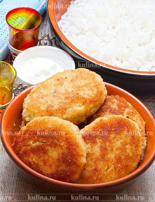 Котлеты из минтая с картофелем - рецепт с фото