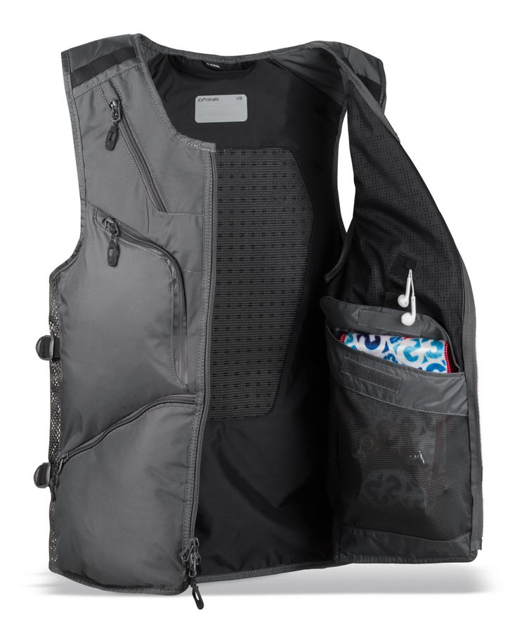 Dakine BC Vest Snowboard Ski Back Pack Jacket Charcoal | | Backpacks | The Board Basement