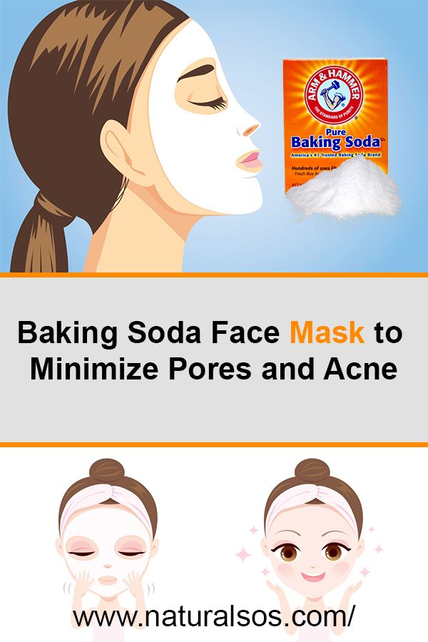 Baking Soda Face Mask To Minimize Pores And Acne With Images