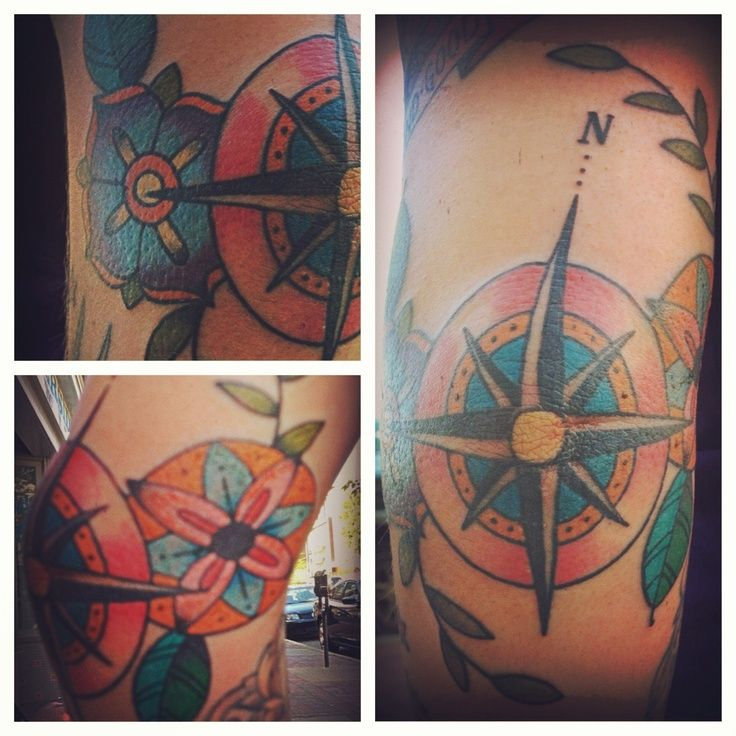 26 best Elbow Compass Tattoo Drawing images on Pinterest   Compass rose tattoo, Compass tattoo ...