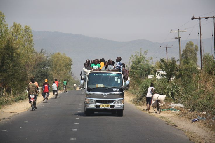 On the road ..  #Malawi