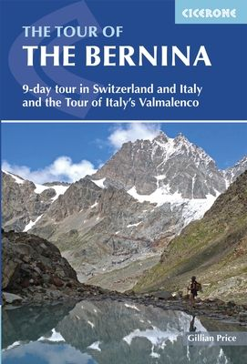 Guidebook describing a 9-stage (119km) route around the Piz Bernina massif in the Alps on the Swiss-Italian border near St Moritz, and the 8-stage (94km) Alta Via Valmalenco exploring the Valmalenco valley, in the shadow of Monte Disgrazia. The Tour of the Bernina is suitable for first-time trekkers but the Alta Via needs some experience.